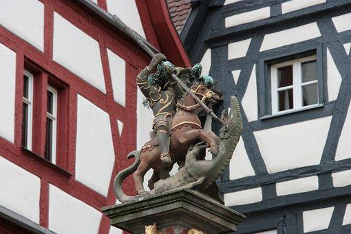 Statue, Monument, Reiter, Sculpture, Art, Figure