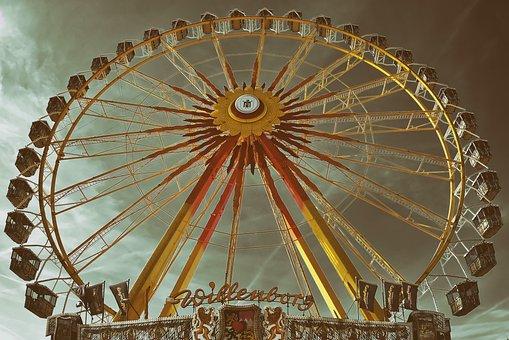Ferris Wheel, Fair, Folk Festival, Leisure, Year Market