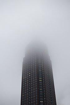 Fair, Frankfurt, Fog, Rain, Skyline
