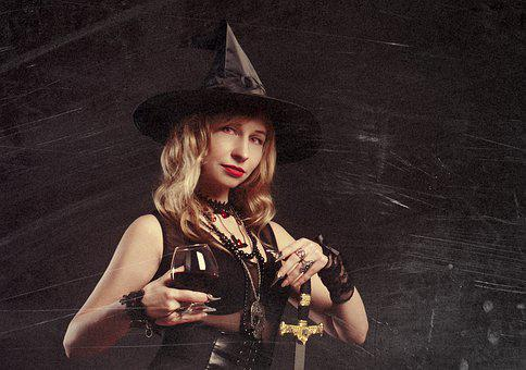 Witch, Magic, Black Magic, Witchcraft, Halloween, Hat
