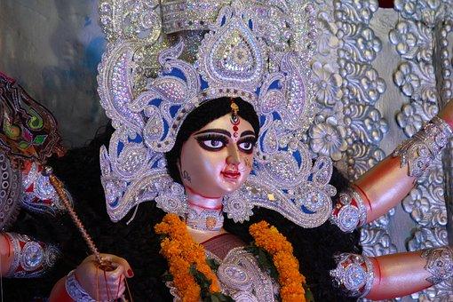 Durga Maa, Durga Puja, Statue, Pandal, Festival, India