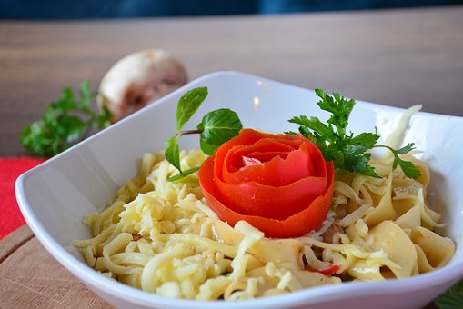 Food, Pasta, Spaghetti, Meal, Italian, Health, Tomatoes