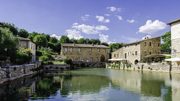 Tuscany, Valdorcia, Italy, Summer