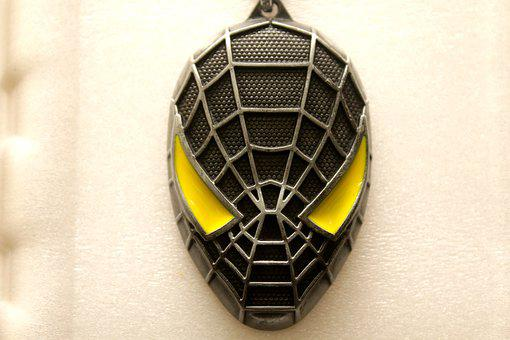 Spider Man, Black Spider Man, Key Ring