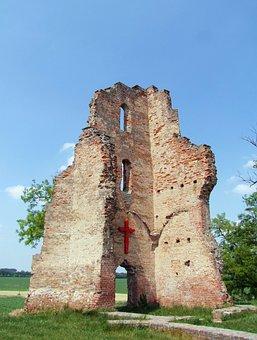 Ruins, Kunhalom, Zelemér, Hungary, Late Gothic