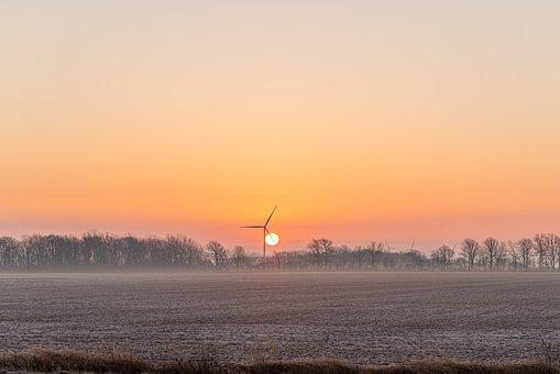 Sunrise, Morning, Fog, Nature, Landscape, Dawn, Sun