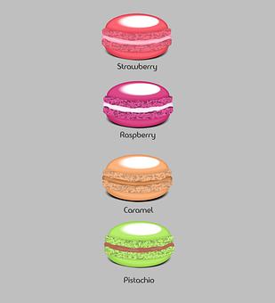 Macaroon, Cookie, Bakery, Food, Macaroons, Pastry