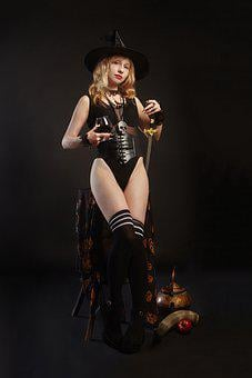 Witch, Magic, Black Magic, Witchcraft, Hat, Mag, Woman