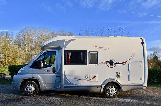 Camper, Mobile Home, Traveling, Holiday, Tourism