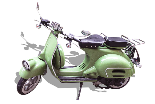 Vespa, Two Wheeled Vehicle, Motor Scooter