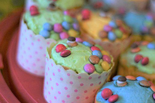 Cupcake, Muffin, Cake, Candy, Tart, Cake Decorations