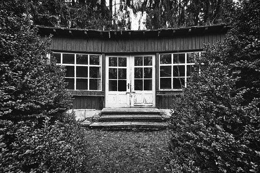 Lost Places, Pavilion, Woodhouse, Hut