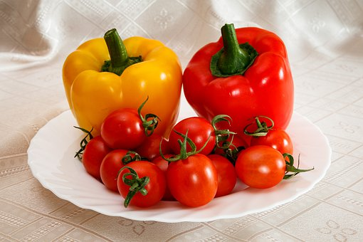 Tomatoes, Pepper, Paprika, Vegetables