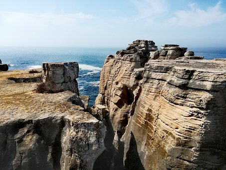Portugal, Coast, Landscape, Nature, Sea, Sky, Ocean