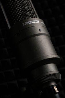 Microphone, Recording Studio, Music