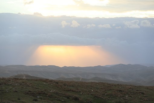Desert, Mounts, Nature, Landscape, Rock