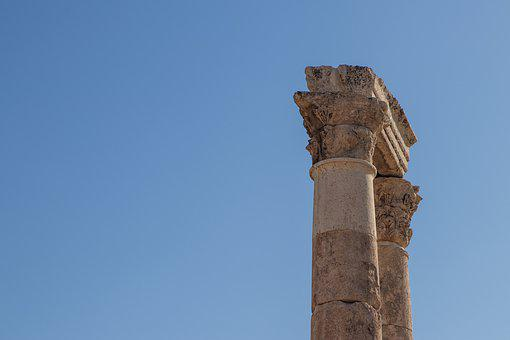 Roman, Columns, Ruins, Pillar, Column, Ancient, Stone