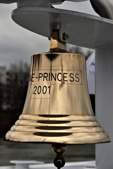Bell, Boat, Cruise, Ship, Maritime, Metal, Signal