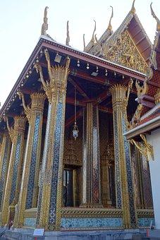 Temple, Thailand, Buddhism, Bangkok