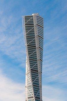 Turning Torso, Malmö, Torso, Building, Skyscraper