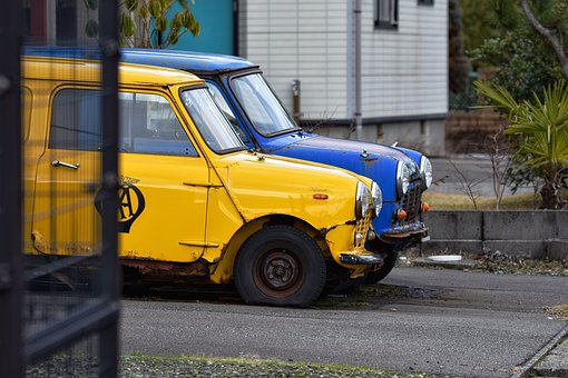 Traffic, Vehicle, Automotive, Car, Tire, Wheel, Rust