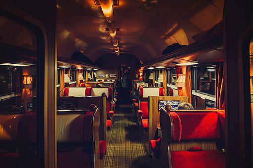 Train, Compartment, Wagon, First Class