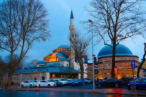 Cami, Istanbul, Turkey, Islam, Religion, Sky