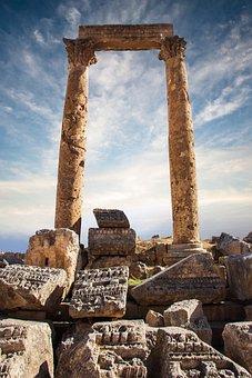 Jerash, Jordan, Ruin, Gerasa, Ancient