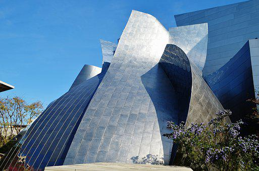 Disney, Concert Hall, Los Angles, Architecture, Usa
