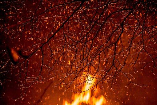Bonfires, Fire, Bonfire, Campfire, Flame, Heat, Hot