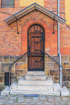 Door, Church, Old, Architecture, Cathedral, Castle