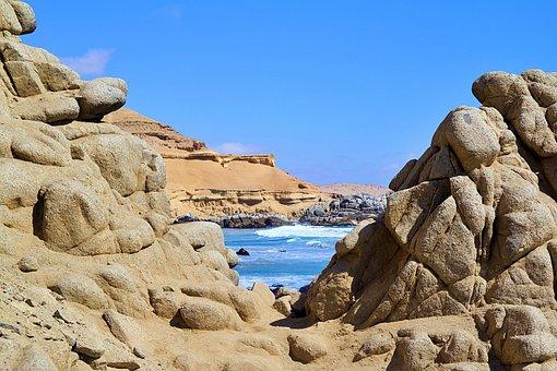 Chile, Coast, Nature, Sea, Landscape