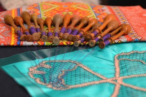 Embroidery, Wire, Crafts, Couture, Coil, Equipment