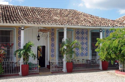 Cuba, Trinidad, House, Architecture