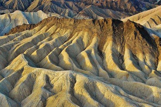 Zabriskie Point, Death Valley Np, National Park