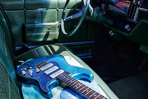 Oldtimer, Guitar, Electric Guitar, Retro, Nostalgia