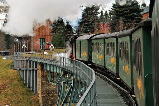 Steam Locomotive, Fichtelberg Railway
