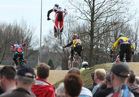 Sport, Fietscross, Bmx, Sports, Jump, Vehicle, Action