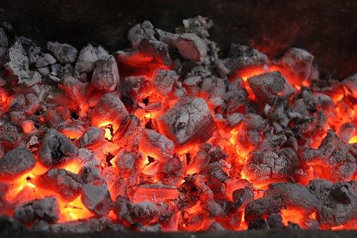 Coal, Fire, Burning, Fireplace, Burn, Hot
