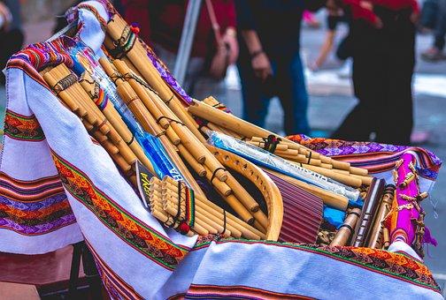 Flute, Traditional, Ecuadorian