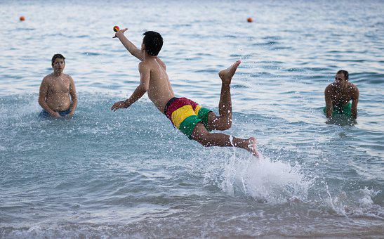 Sea, Water, Game, Croatia, Relax, Vacation, Beach