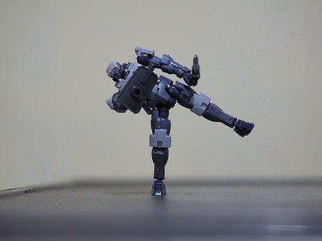 Hexa Gear, Armor, Soldier, Fictional, Action, Figure