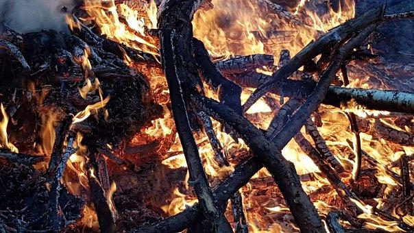Fire, Campfire, Flame, Flames, Hot, Blaze, Forest Fire