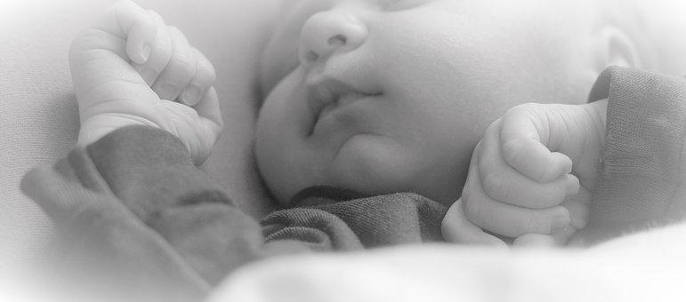 Sleep, Infant, Newborn, Baby, Tender, Young, Background