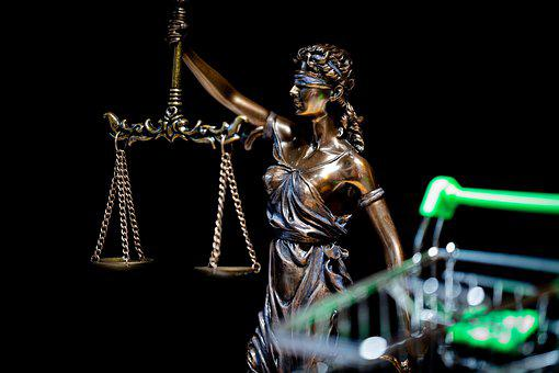 Justitia, Online Shopping, Court, Judgment, Judge, Law