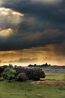 Landscape, Clouds, Storm, Nature, Sky