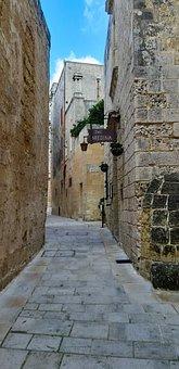 Medina, Blue Sky, Malta