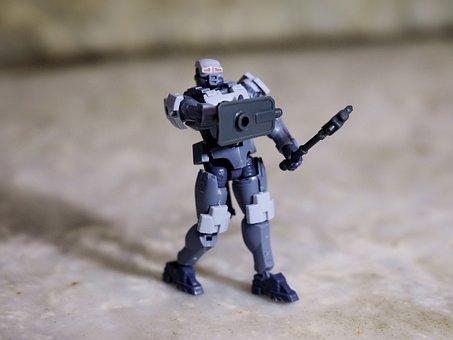 Hexa Gear, Model, Kit, Plastic, Painted, Plain, Color