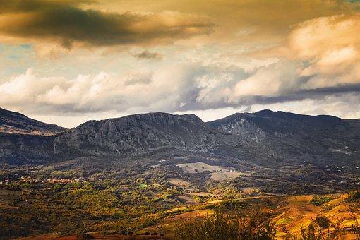 Mountain, Landscape, Mountains, Nature