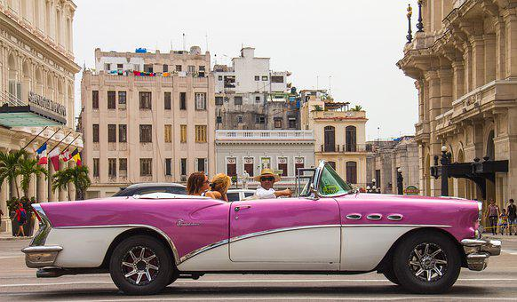 Oldtimer, Cuba, Havana, Automotive, Classic, Vehicle